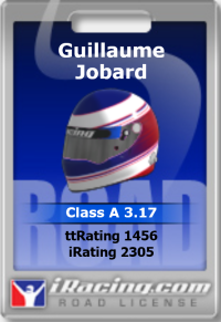 Road Licence iRacing